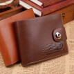 Men's short wallet, creativity, student personality, zero wallet, fashion, leisure wallet, cross section.