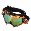 Cross-Country Motorcycle Riding Goggles Cross-Country Goggles Game Motorcycle True Semi-Permeable Membrane Cycling Glasses Orange