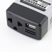 Car Mobile Converter Inverter Adapter DC 12V/24V to AC 220V Charger Power+USB