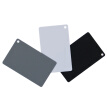 Good weather white balance card / 18 degree gray card / black card three-in-one portable set universal Canon / Nikon / Sony camera photography color correction large
