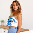 0dedf0df7d ... PREISEI New Summer Women Tank Top Cotton Sexy Loose Flower Embroidery  Bow Backless Camisole Tube Tops ...