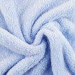 Sanli coral velvet bow hanging towel thickening lint strong suction bathroom kitchen home multi-purpose hand towel 30 × 44cm light blue