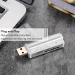 All in One Card Reader USB 2.0 Mini Portable For SD/SD/TF/MS Duo/Micro MS(M2)/Ms Pro Duo