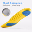 Unisex Shoe Inserts Orthotic Sports Arch Support shoes Insoles Shock Absorption size 34-45