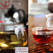 250g Puer tea, including a variety of different flavors of Puer tea, China's top raw Puer tea, Yunnan Puer tea, thin Mini Puer tea