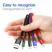 Baseus 4in1 USB cable Micro / Type C / Lightning cable Qi charger cable for iPhone ipad Samsung  3.5A  1.2m