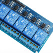 Active Low 8 Channel Relay Module Board for Arduino PIC AVR MCU DSP ARM 5V