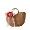 knitting hand carry bags summer new woven straw bag handbag casual beach bag famous brand fashion tote bag