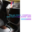 Baseus USB Car Charger For iPhone Samsung Mobile Phone Charger  with  2 in 1 Dual USB Ports Phone Car Charger
