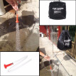 40L Solar Heated Heating Camp Shower Bag Travel Outdoor Camping PVC Water Bag