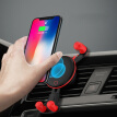 Tuoma TOURMAX car phone holder a deer safe car outlet snap-on car navigation universal gravity sensing base X3L black