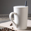 【Jingdong Supermarket】 Porcelain Soul Creative Ceramic Cup Couple Cups Coffee Cup With Covers Spike Mugs Milk Cups 16oz