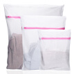 Fang grass laundry bag set fine mesh square wash bag clothes cleaning bag washing machine mesh bag 3 sets