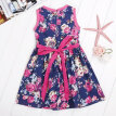 Baby Girl Kids Children's Summer Floral Print Sleeveless Dress