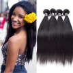 Amazing Star Straight Hair Bundles Brazilian Virgin Straight Hair 4 Bundles Top Quality Human Hair Extensions Silky Texture