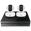 EasyN NVR-1-A4 +Mini10D Wireless Pan Tilt 960P Security Network IP Camera Night Vision