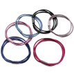 Beauty skin simple rope rope (30 multi-color combination) MF0603 high elastic rubber band hair ring rope rubber band tie rope hair accessories hair band