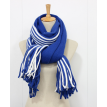 New winter and winter striped cashmere scarf scarf  Double sided men and women thickening warm shawl scarves