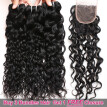 Ishow Hair Biggest Sale Buy 3 Bundles Water Wave Hair Get 1 Free Lace Closure
