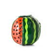 Creative Summer Women Funny Tote Bags Watermelon Design Handbag With Green Leaf Delicate Circle Shoulder Messenger Bags