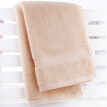 Sanli Class A untwisted yarn cotton square towel towel towel 3 sets of shallow wheat color senior gift box towel health comfortable baby available gift bag