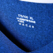 Snow flying Qiuyi Qiuku men and women thin section base underwear V-neck couple thin section thermal underwear bottoming cotton sweater pants suit male treasure blue (Tibetan) 165 (M)