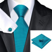Vogue Men Silk Tie Set Necktie Handkerchief Cufflinks Set Ties For Men Formal Wedding Business wholesale
