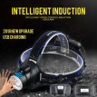 NeillieN LED headlights,USB rechargeable headlamp,zoom flashlight,head torch,Intelligent induction headlamp,18650 battery