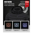 USB smart charging heating heating coat autumn and winter warm graphene constant down jacket jacket cotton jacket【NO Batteries】