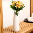 Yun no end ceramic vase modern minimalist creative flower arrangement home decoration dried flower vase floral large white