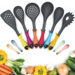 10PCS Kitchen Utensils Set Cooking Tool Set Silicone Non-Stick Heat Resistant Cooking Gadgets Cookware Tools Ladle Spoon Skimmer