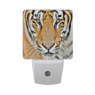 ALAZA LED Night Light With Smart Dusk To Dawn Sensor,Tiger Face Vintage Stylish Plug In Night Light