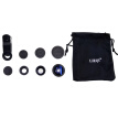 LIEQI LQ-001 3 in 1 Universal Clip Fisheye Lens Mobile Phone Lens(Coupon code JD214, the amount of purchases from 20 $ discount $ 4;$ 50-$ 10;$ 100-$ 20;$ 150-$ 30)