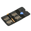 LODESTAR 26pcs Multi-functional Screwdrivers Set with Magnetic Slotted Phillips Torx Bits Electrical Work Repair Tools Kit
