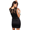 Buenos Ninos Lace Sexy Package Hip Dress Round Neck Middle-rise Skirt