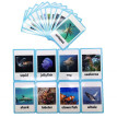 20 pc- Sea Animals Flash Cards-English word learning card&pocket size flash card for Preschool children-English Vocabulary Cards