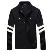 Fashion Men Jackets 2016 New Men Outerwear Coats Spring Autumn Men Slim Jackets Plus Size 5XL Black Navy Blue Men Casual Coats