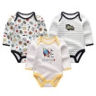 2018 Newest Babywear Baby Girl Clothes 0-12M Bodysuit For Babies Jumpsuit Summer Autumn Baby Boy Clothes Long Sleeve Newborn