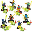 Ninja Model Building Block Classic Action figures toys for Children gifts with NinjagoINGly LegoINGlys bricks Toys