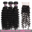 Ishow Hair Biggest Sale Buy 3 Bundles Deep Wave Hair Get 1 Free Lace Closure
