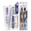 Crest toothpaste 116g 1 pc + 2 pcs Soft Toothbrush Black Bamboo Charcoal Nano Tooth Brush Teeth Whitening