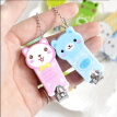 Cute cartoon nail clippers , 1pcs (styles deliver randomly)
