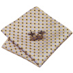 N-0590 Vogue Men Silk Tie Set Yellow Polka Dots Necktie Handkerchief Cufflinks Set Ties For Men Formal Wedding Business wholesale