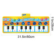 Piano Mat Toy Huge Piano Fun Colorful Dancing Pad 17 Keys Children's Keyboard Best Gift Music Play Mat Toy Folding Creeping Music