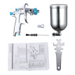 Professional Stainless Steel DIY Air Spray Machine with Gravity Feed Container Hand Manual Spraying Painting Tool