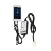 3.5mm Aux Audio MP3 Interface Adapter for Toyota USB charging for iPhone5 6 6s 6plus
