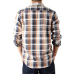 BIIFREE Men's Clothing Casual Button-Down Shirts 100% COTTON Long Sleeve Plaid shirt
