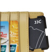 JJC MCH-MSD10GR ultra-thin memory card holder SLR camera memory card holder TF card digital portable storage card package gray card cartridge (can put 10 MSD / TF card)