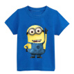 Cartoon figure children minions clothes costume children's clothing t shirts for Kid's BOXXTY