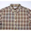 BIIFREE Men's Clothing 100% cotton Long sleeve Retro Plaid Shirt